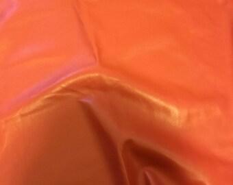 RUST Supple Lambskin Leather Hide Piece #3