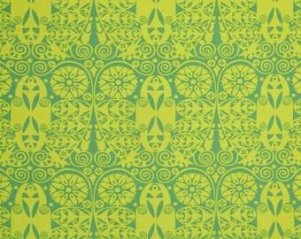 Westminster Rowan Temple Doors - Cotton Home Dec Fabric - fat 1/4 remnant