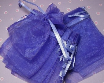 Halloween Stock Up Sale 12 Pack Purple Sheer Organza Drawstring Bags  Great For Halloween Time Gifts