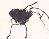 hair- original monotype