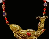 Nepalese Good Fortune Fish Necklace