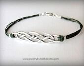 Celtic Knot bracelet Outlander Celtic jewelry Scottish bracelet Irish bracelet