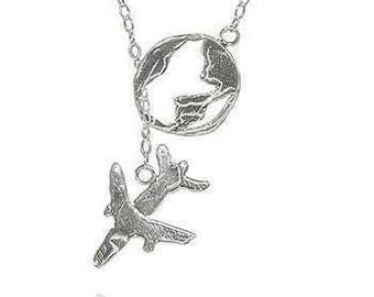 For The Traveler...Sterling Silver Lariat