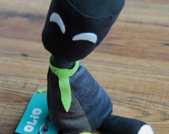 Dark Olio - Wee Plush Robot