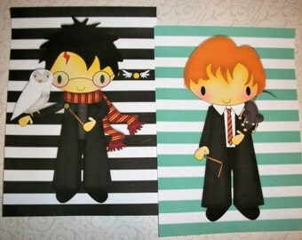 HARRY POTTER - WaLL ArT - Set of 10 - select a size - Click on All Photos - Stripes - HPSWA 5567
