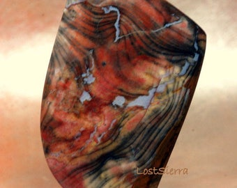 Stunning Colorful Flint w/Vug 36mmX60mmX7mm
