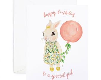 Hoppy Birthday Bunny