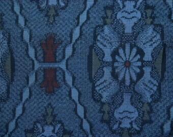 Vintage haori S417,  Oshima silk