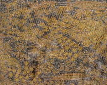 Vintage kimono S524, autumn colors