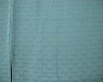 Vintage kimono S528, green silk
