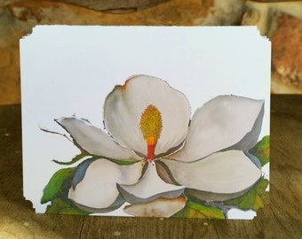 Beale Magnolia, Any Occasion, Notecard, blank inside