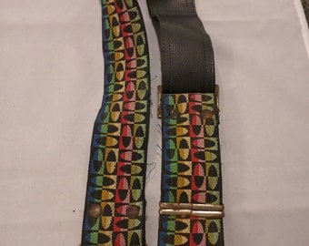 Vintage Tapestry Camera Strap from the 1970's