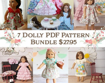Bundle and Save! 7 Dolly PDF Pattern Collection