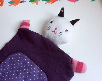 ANILINUS * Marameo * Doudou Baby Comforter, Crib Toy * Soft Cotton Sweat, organic Fabrics
