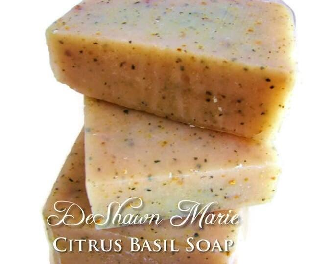 Citrus Basil Handmade Soap