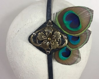 Bronze Peacock Band