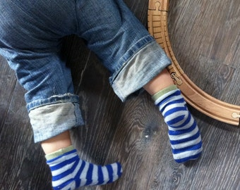 Cashmere Baby Socks - Bulk Order - Two or Three Pairs - Made to Order - Custom Sizes newborn to 2T