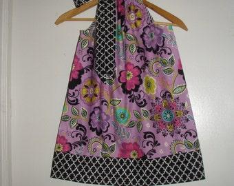 pillowcase dress SALE 10% off code is tiljan  purple floral pillowcase dress sizes 3,6,9,12,18 months , 2t, 3t, 4t, 5t, 6, 7, 8 10, 12