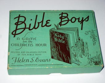 Vintage Bible  Game - Bible Boys