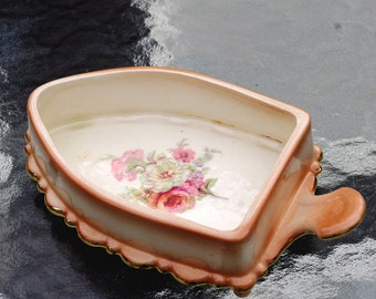 Pottery Porcelain Iron Shape  Bowl Tray