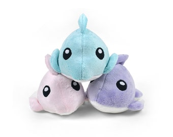 Dolphin Minky Stuffed Animal Plush Toy
