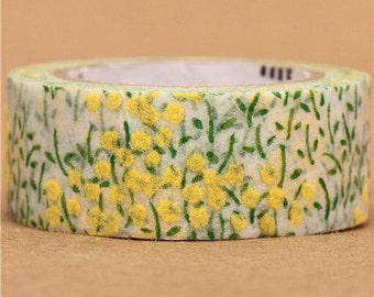 187779 pretty flower mt fab Washi Masking Tape deco tape