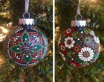 """Pysanka Designs Ornaments 3 1/2"""""""