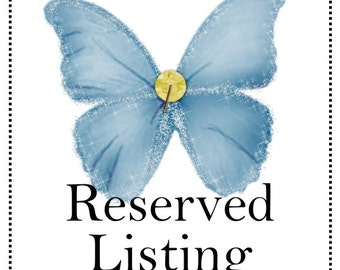 Reserved Listing - Custom Heart Wall Hangings