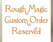 RESERVED for LOTES Custom 2016 Stamping on Copper Christmas Ornament