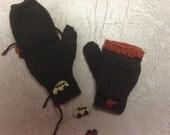 Reserved for Linda - Kids Fingerless Gloves