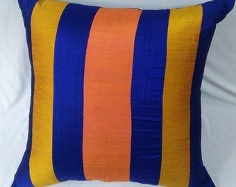 gold orange cushion etsy