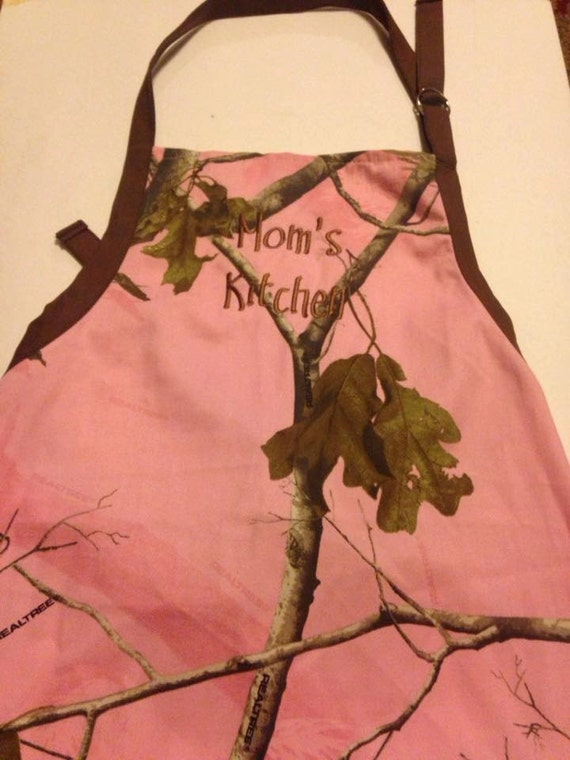 Camouflage Apron Mom's Kitchen Beautiful Camo Gift for Mom