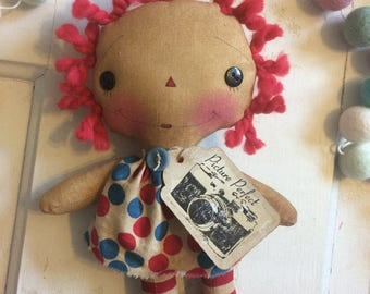 Raggedy Annie - Raggedy Ann - Ragdoll - Picture perfect doll- Mother's Day gift -