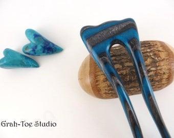 Mini Mermaids Tail Hair Fork, TINY Hairfork, Hair forks, Hair Stick, Hairpin, Hair pins, Grahtoe Studio, Man bun, Hairforks, stick,Man Bun,