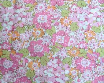 Liberty RARE retired seasonal print, Isabella in pink - stash builder 10ins x 13ins