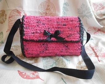 Pink Plarn Purse