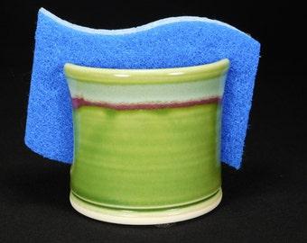 Ceramic Sponge Dish - Ceramic Spongeholder - Kitchen Sponge Dish - Dish Sponge Keeper - Sink Sponge Holder - Sponge Holder - In Stock