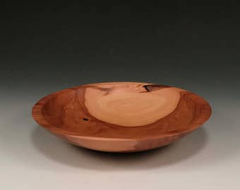 The Simpleton - Handmade Wood Bowl - Apple Wood