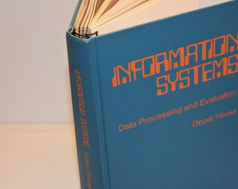 Upcycled Blank Book--Information Systems