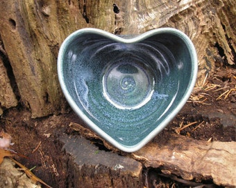 Heart Bowl for your sweetie , cereal bowl, ice cream bowl, salsa bowl, 12 oz.