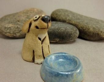 Toto...Miniature Dog in Stoneware
