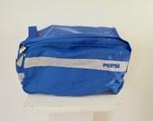 on sale Vintage PEPSI Cola BIKE Bag handlebar bag 1970's 80's new unused