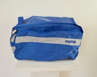 Vintage PEPSI Cola BIKE Bag handlebar bag 1970's 80's new unused