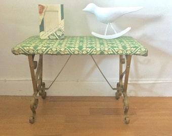 vintage mid century vanity seat