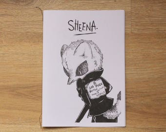 Illustration Zine & Comic Sheena Vol.3