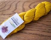 Cascade Ultra Pima DK Weight 100% Cotton Yarn- 220 yards - Gold 3747