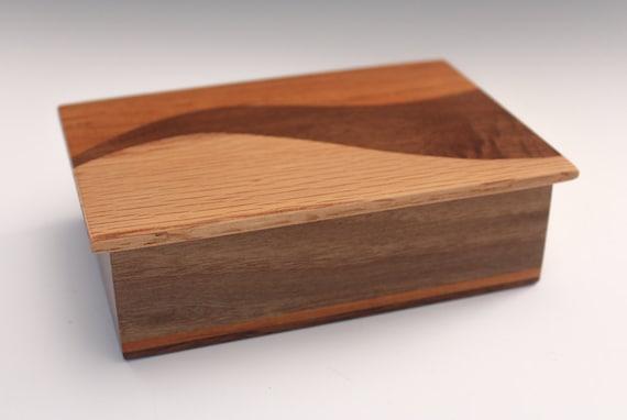 S Curve Wood Box 167