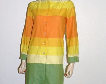 1960s Shirt Dress Bust 36