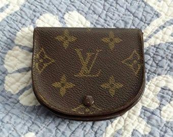 SALE - Vintage authentic Louis Vuitton monogram coin purse