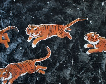 Painting Tigers Across the Sky